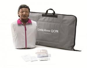 Fantom Laerdal Little Anne QCPR dark