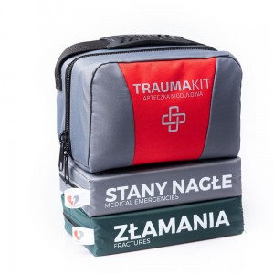 TRAUMA KIT Apteczka Modułowa (SZ) - EASY BAG 2 Red