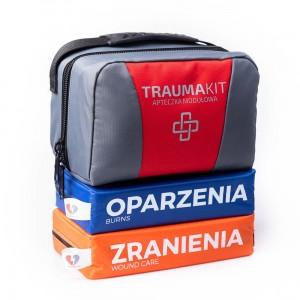TRAUMA KIT Apteczka Modułowa (RO) - EASY BAG 2 Red