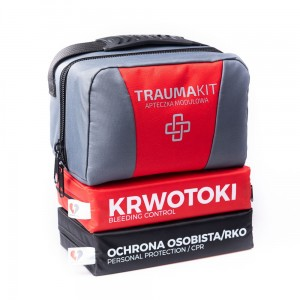 TRAUMA KIT Apteczka Modułowa (AK) - EASY BAG 2 Red
