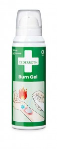 Żel na oparzenia Cederroth Burn Gel Spray, butelka 100 ml